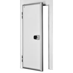 Ușă frigorifică pivotantă tip ''ALUDOOR'' PV80 cu prag