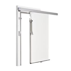 Ușă frigorifică pivotantă tip ''COOLDOOR'' PV80 - manual culisantă, fără prag