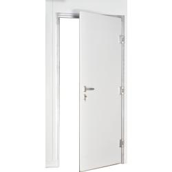 Ușă frigorifică pivotantă tip ''INDDOOR'' PV50 -uşă industrială cu un canat, fără prag