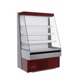 Vitrină frigorifică verticală cu perdea de aer Sara/Stela